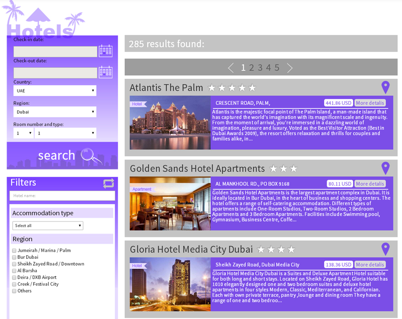 BEST HOTELS LIST IN DUBAI